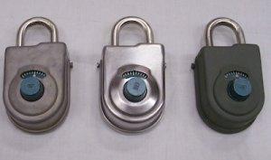 画像1: 軍用バドロック US刻印 8077  S&G ナンバー錠 60年代 中古良品