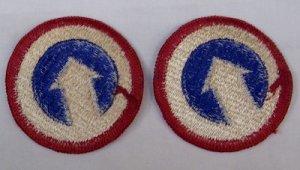画像2: ARMY 第1兵站コマンド 左右セット パッチ 60〜70年代