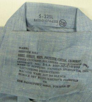 画像2: NAVYシャツ シャンプレー