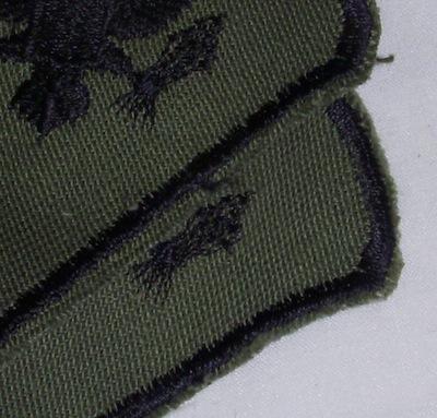 ARMY 特技兵  階級 左右セット パッチ 60年代 - いは軍払い下げ品店