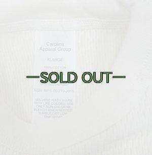 画像2: ホワイト アンダーシャツ ワッフル