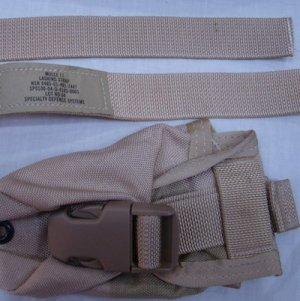 画像4: 米軍放出ナイロンテープ デザート系 タン 幅25mm