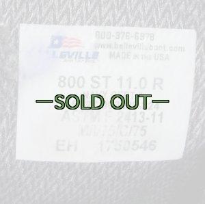 画像3: NAVYゴアテックスブーツ 11R 黒 中古良品 800ST BELLEVILLE