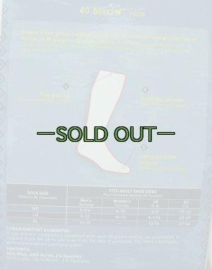 画像5:  ブーツ靴下WIGWAM 40BELOW  OD色 未使用 防寒用