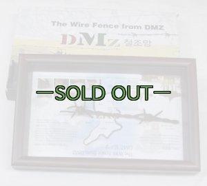 画像1: DMZ韓国/北朝鮮 軍事境界線鉄条網01