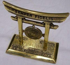 画像1: MCバースデー記念置物 鳥居 1995年 沖縄