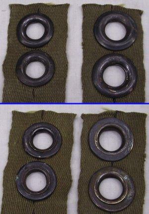 画像3: 軍用ハトメ グロメット 5組セット