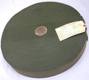 画像1: コットンテープ 幅50ミリ コットン 90年代 OD