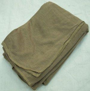 画像1: 軍用ネッカチーフ スカーフ ブラウン系 80〜90年代