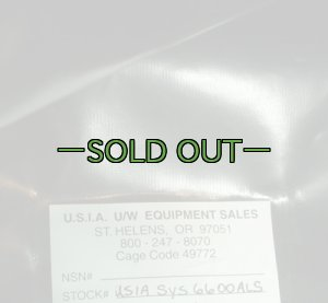 画像3: 防水バッグ USIA 黒 6600ALS