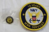 NAVY MWR 10YEARS ピンズ