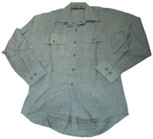 画像1: NAVYシャツ シャンプレー