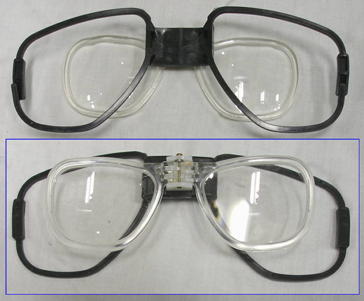 ガスマスク用 メガネ01 M4042用 中古上 いは軍払い下げ品店